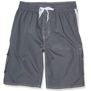 2/$20 🛍️ Okanu Grey Swim Trunks
